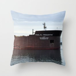 Paul R Tregurtha Throw Pillow