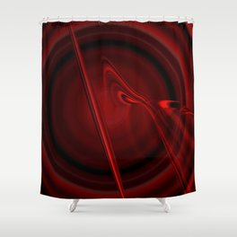 Blood Cell (Red series #3) Shower Curtain