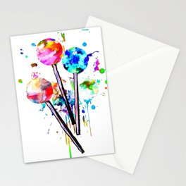 Lollipops Stationery Cards