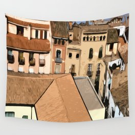 Spain Landscape Wall Tapestry