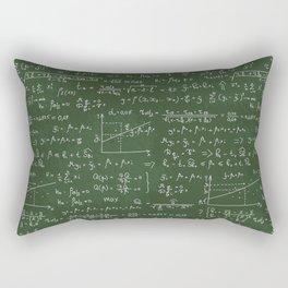 Geek math or economic pattern Rectangular Pillow