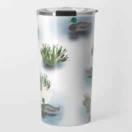 Best of friends water birds Travel Mug