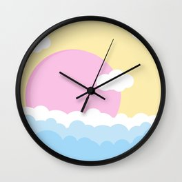 Skyscapes Wall Clock