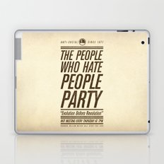 Don't Vote Now! Laptop & iPad Skin
