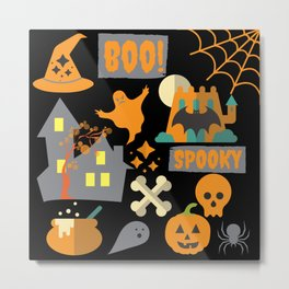 halloween designs Metal Print