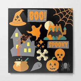 halloween designs Metal Print