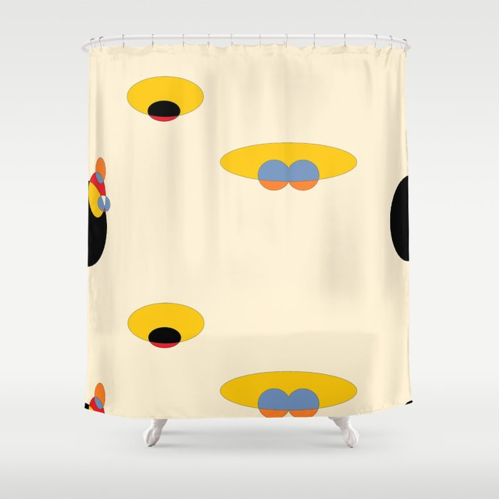 Dimensions Shower Curtain
