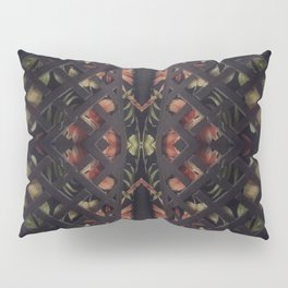 Tropical Latticework Pattern Pillow Sham