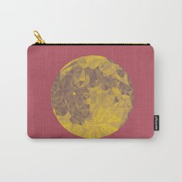 Chinese Mid-Autumn Festival Moon Cake Print Carry-All Pouch