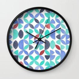 LITE GARDEN SALAD, hand-painted pattern by Frank-Joseph Wall Clock