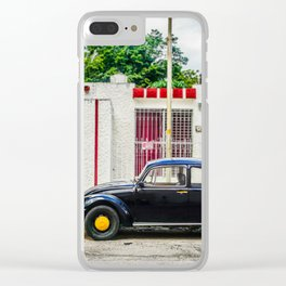 Street Scene Mexico Clear iPhone Case