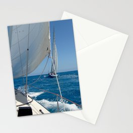 America's Cup ~ St. Maarten Stationery Cards