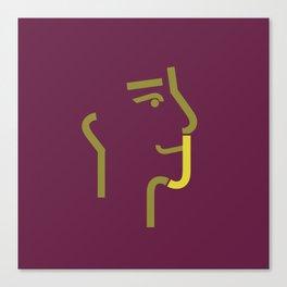 logo J Canvas Print