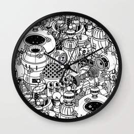 Dark Matter Space Machine Wall Clock