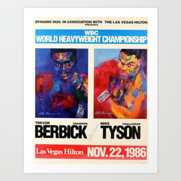 Boxing Heavyweights Art Print