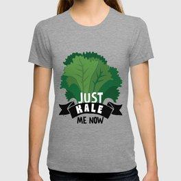 Just Kale me Now Kale Art for Vegans on Diet Light T-shirt