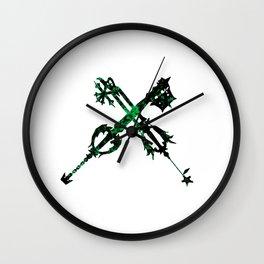 Dual Wield Wall Clock