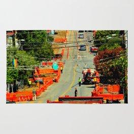 Orange Alert - There Goes The Neighborhood Rug