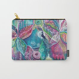 Sacred Temple and the Peacock King - Justine Aldersey-Williams 2012 Carry-All Pouch