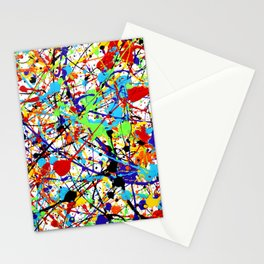 Splat! 1 (Rainbow) Stationery Cards