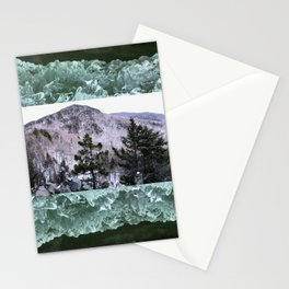 Wondrous Winter Scene Stationery Cards