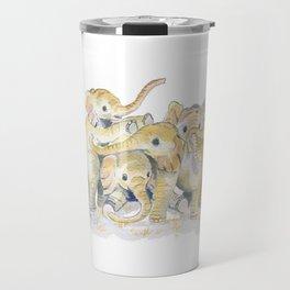 Baby Elephants Travel Mug