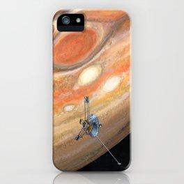 Interplanetary Pioneer iPhone Case