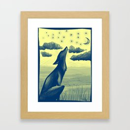 Song of the Night Framed Art Print
