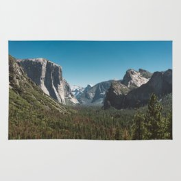 Tunnel View, Yosemite National Park V Rug