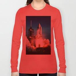 Space Shuttle Launch Long Sleeve T-shirt