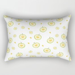 pattern with apples Rectangular Pillow