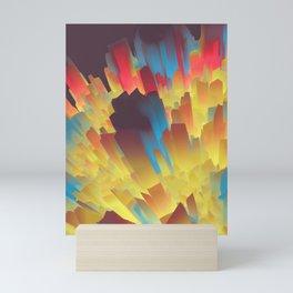 Glowing City Mini Art Print
