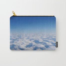 Blue Sky White Clouds Color Photography Carry-All Pouch