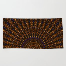 Quasicrystalline Sunrise Beach Towel