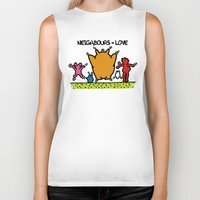 keith haring Biker Tanks featuring Keith Haring & The neighbours by le.duc