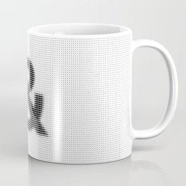 Halftone Ampersand Sans Serif Coffee Mug