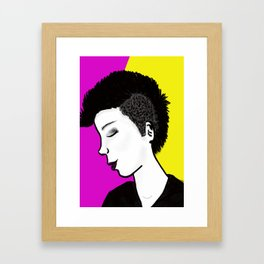 I rock Framed Art Print