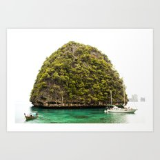 Phuket Island Art Print