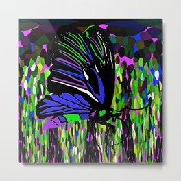 Butterfly Night Metal Print