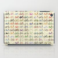 bikes iPad Cases featuring Bikes by Wyatt Design