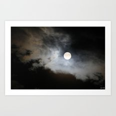 Super Moon Art Print