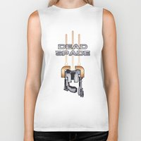 dead space Biker Tanks featuring Dead Space by Spiritius