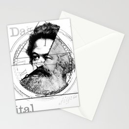 The Time of Marx Stationery Cards