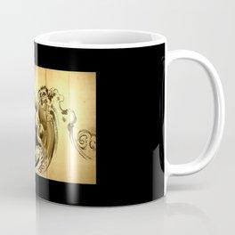 Dragon amid the waves by soga shohaku Coffee Mug
