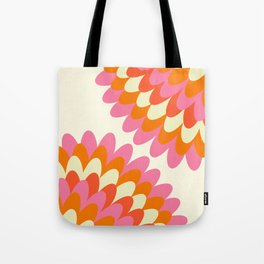 Dahlia at 60's Tote Bag