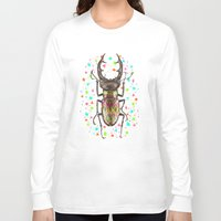 insect Long Sleeve T-shirts featuring INSECT IV by dogooder