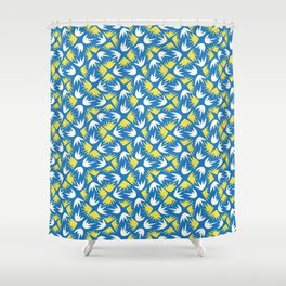 Geometrical Matisse 1 Shower Curtain