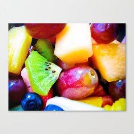 Study of Fresh Fruit Canvas Print