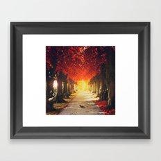 Autumn paradise. Framed Art Print