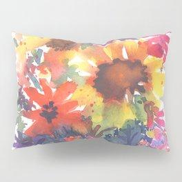 Rainy Day Sunflowers Pillow Sham